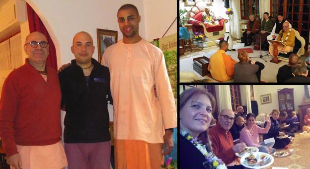 """""""Attenti, truffatori!"""", ma erano i monaci Hare Krishna: una giornata con loro, tra canti, riflessioni e cena vegetariana"""