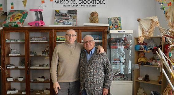 Il maestro Rosasco dona al Comune anche il Museo del Giocattolo