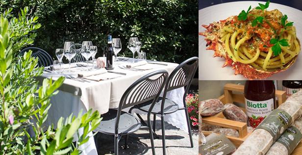 FILOVERDE, il locale che non c'era, dove il bello del ristorante sposa il buono dell'agriturismo