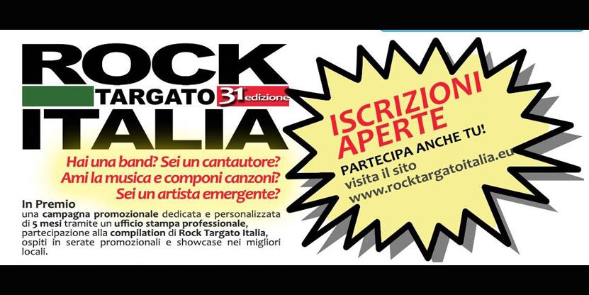Rock Targato Italia: aperte le iscrizioni per la LIGURIA al contest che ha scoperto i Timoria, Marlene Kuntz, Subsonica, Estra, Le Vibrazioni e molti altri