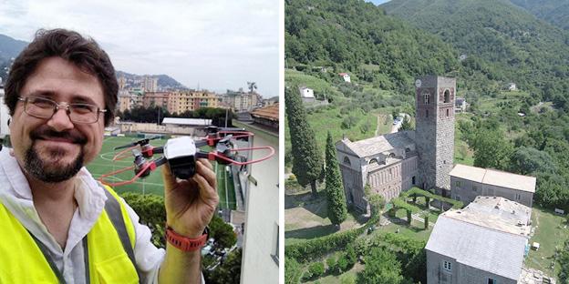 IL LEVANTE VISTO DAL CIELO - Andrea Chiantore con il suo drone cattura il territorio da nuove prospettive