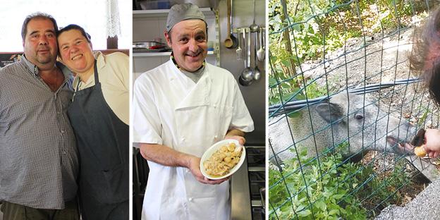 #LaRicetta: arrosto con le castagne - Dalla trattoria nel bosco dove la mascotte è... un cinghiale! (GUARDA Il VIDEO)