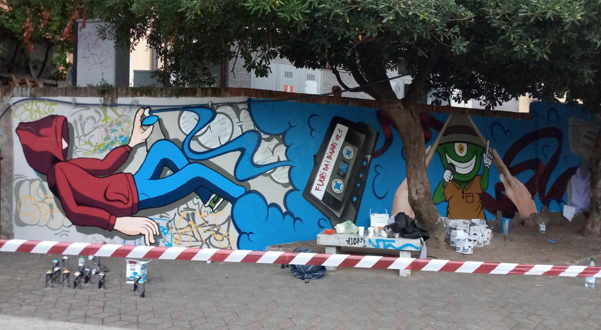 RAPALLO: Street art per riqualificare la stazione