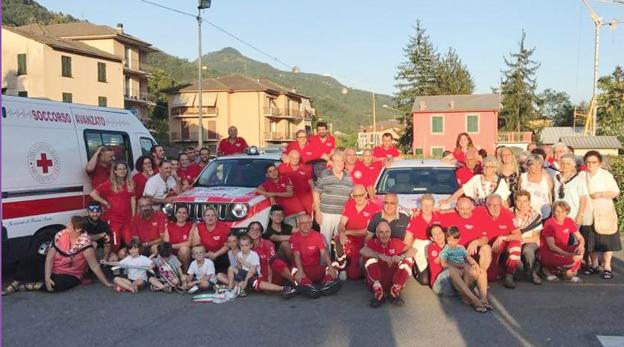 """""""Siamo come una famiglia"""" - La CRI di Cicagna compie 45 anni: un caso di successo che oggi coinvolge quasi 200 persone"""