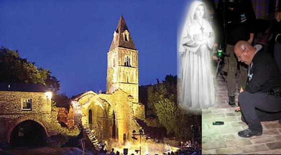 """""""Il rilevatore di campi elettromagnetici è impazzito"""": al monastero di Valle Christi, a caccia del fantasma della suora murata viva"""