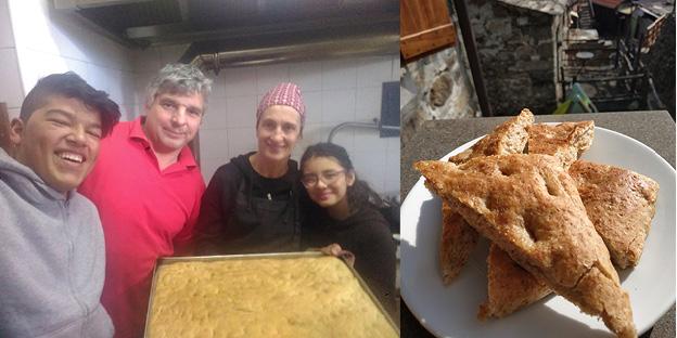 #ricetta - La focaccia casereccia del Cason de Larvego