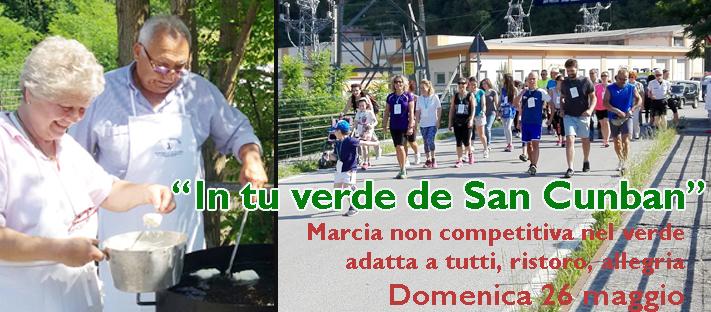 """""""In tu verde de San Cunban"""" -  Domenica 26 maggio marcia non competitiva adatta a tutti alla scoperta del verde e delle golosità della Fontanabuona"""
