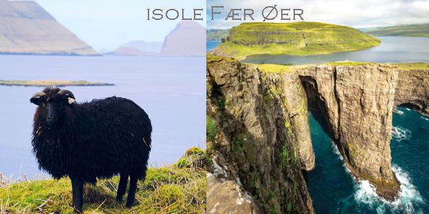 """#CorfoleTravel - Alle isole Fær Øer, dove ci sono più pecore che abitanti, si fa la spesa in elicottero e i laghi """"volano"""" sopra l'Oceano"""