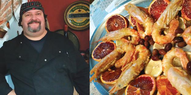 #RICETTA- I gamberoni alla catanese della Tavernetta (dove mangiare pesce senza svenarsi!)